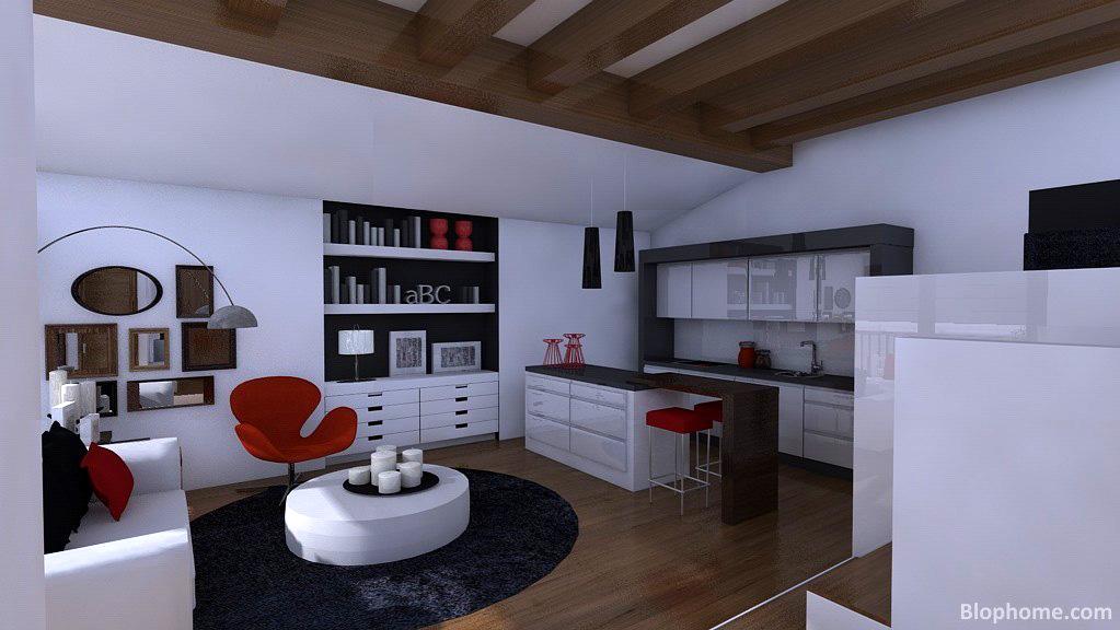 38 metros cuadrados blophome for Salon de 40 metros cuadrados
