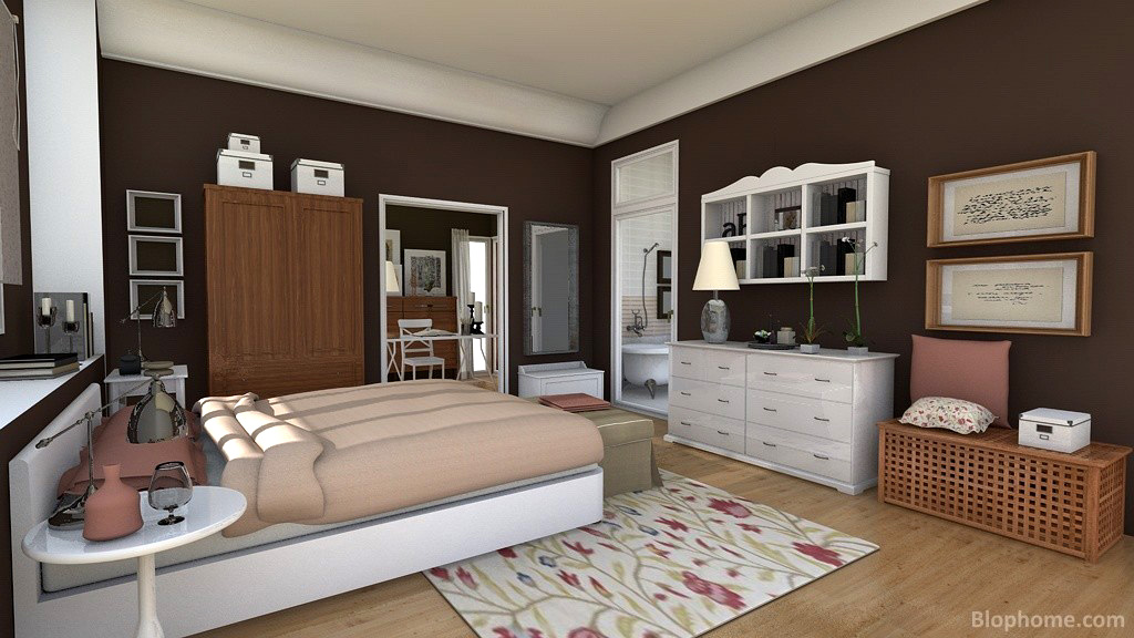 Casas decoradas con ikea dormitorio romntico decorado for Decoracion dormitorios ikea
