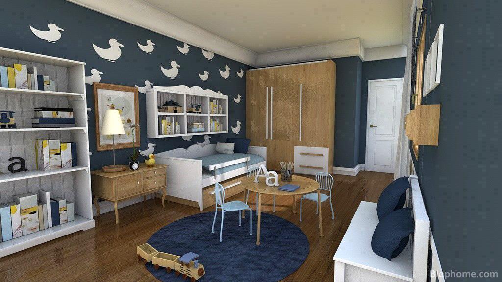 Habitaciones juveniles nino dise os arquitect nicos for Dormitorio juvenil nino