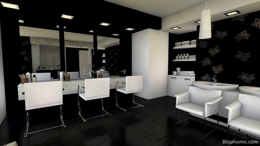 Cortar y peinar blophome for Iluminacion para peluquerias