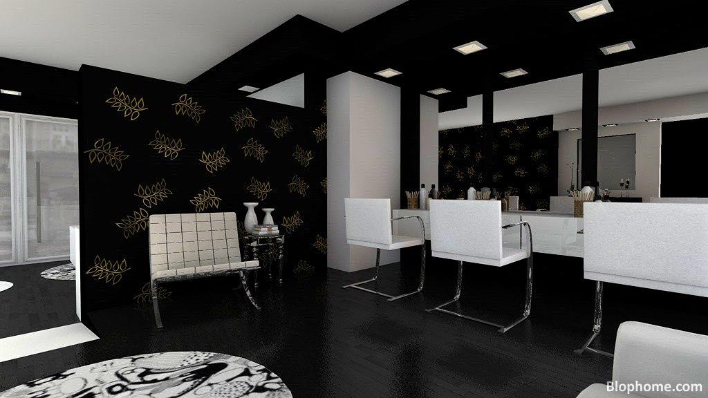 Cortar y peinar blophome for Salones de peluqueria decoracion fotos