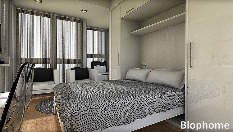 Peque os espacios blophome - Aprovechar espacio dormitorio ...