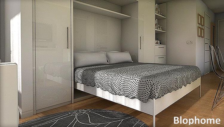 Peque os espacios blophome - Aprovechar espacios pequenos dormitorios ...