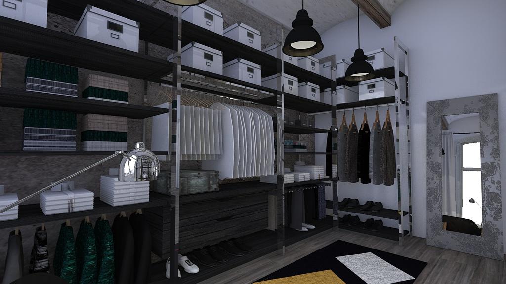 Dormitorio estilo industrial blophome for Dormitorio estilo nordico industrial