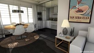 Un apartamento en la playa