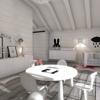 Dormitorio infantil nórdico en blanco y negro by ONA
