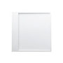 Kartell by LAUFEN, Shower tray 900x900mm, solid surface