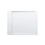 Kartell by LAUFEN, Shower tray 1000x800mm, solid surface