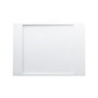 Kartell by LAUFEN, Shower tray 1100x800mm, solid surface