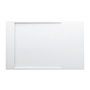 Kartell by LAUFEN, Shower tray 1300x800mm, solid surface