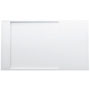 Kartell by LAUFEN, Shower tray 1400x800mm, solid surface