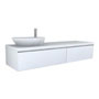 PALOMBA COLLECTION, Washtop 1800mm, with drawer elements 1000mm and 800mm with 1 drawer