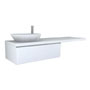 PALOMBA COLLECTION, Washtop 1800mm, with 1 drawer element 1000mm with 1 drawer