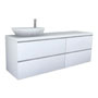 PALOMBA COLLECTION, Washtop 1800mm, with drawer elements 1000mm and 800mm with 2 drawers