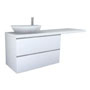 PALOMBA COLLECTION, Washtop 1800mm, with 1 drawer element 1000mm with 2 drawers